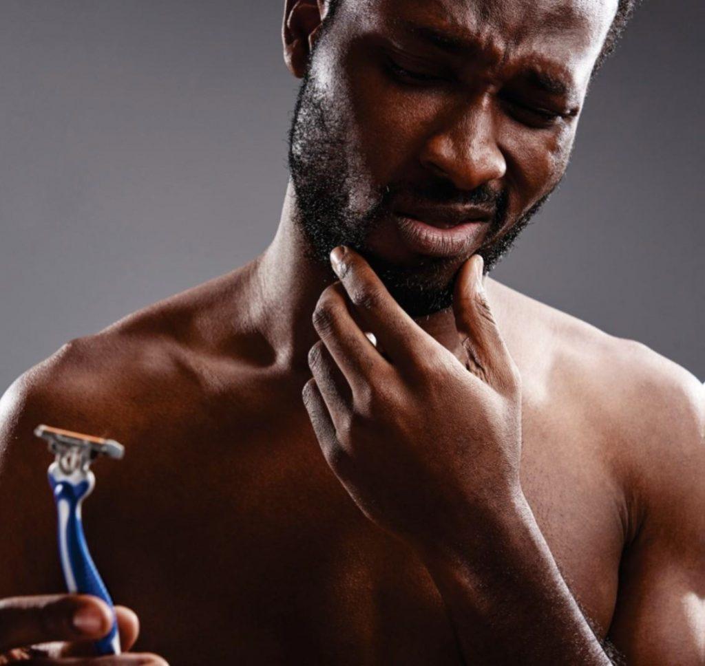 shaving bumps